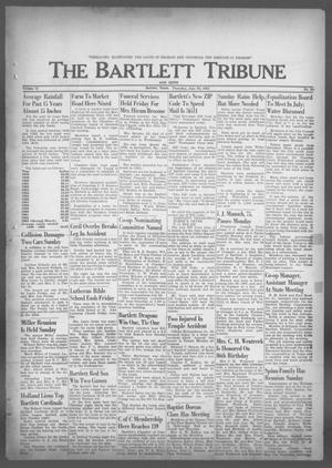 Primary view of object titled 'The Bartlett Tribune and News (Bartlett, Tex.), Vol. 76, No. 33, Ed. 1, Thursday, June 20, 1963'.
