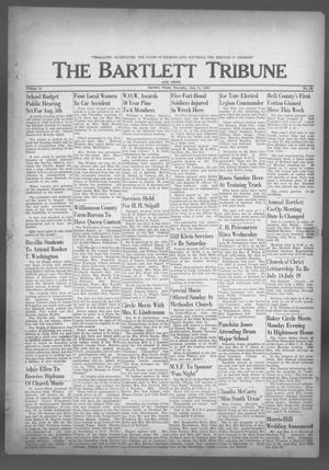 Primary view of object titled 'The Bartlett Tribune and News (Bartlett, Tex.), Vol. 76, No. 36, Ed. 1, Thursday, July 11, 1963'.