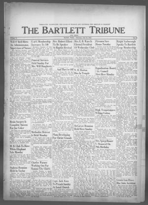 Primary view of object titled 'The Bartlett Tribune and News (Bartlett, Tex.), Vol. 76, No. 38, Ed. 1, Thursday, July 25, 1963'.