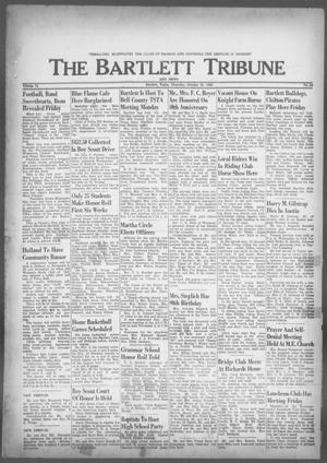 Primary view of object titled 'The Bartlett Tribune and News (Bartlett, Tex.), Vol. 76, No. 52, Ed. 1, Thursday, October 31, 1963'.