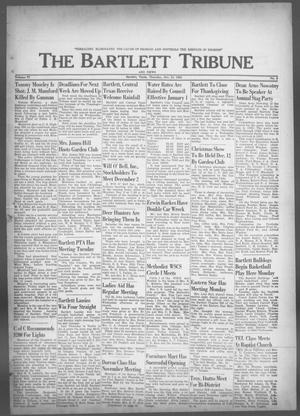 Primary view of object titled 'The Bartlett Tribune and News (Bartlett, Tex.), Vol. 77, No. 3, Ed. 1, Thursday, November 21, 1963'.