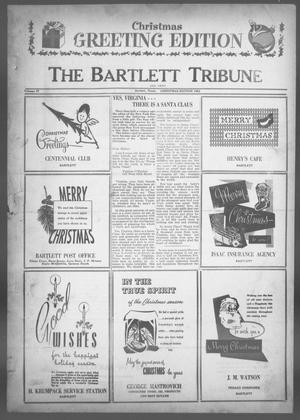 Primary view of object titled 'The Bartlett Tribune and News (Bartlett, Tex.), Vol. 77, No. 7, Ed. 2, Thursday, December 19, 1963'.