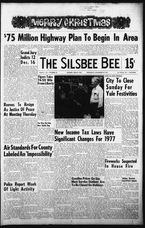 Primary view of object titled 'The Silsbee Bee (Silsbee, Tex.), Vol. 59, No. 45, Ed. 1 Thursday, December 22, 1977'.
