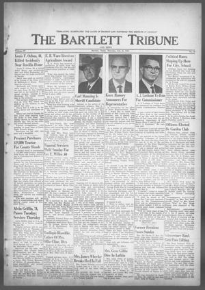 Primary view of object titled 'The Bartlett Tribune and News (Bartlett, Tex.), Vol. 77, No. 16, Ed. 1, Thursday, February 20, 1964'.