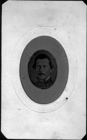 Primary view of [Photograph of Ezekial George from the neck up]