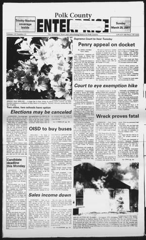 Polk County Enterprise (Livingston, Tex.), Vol. 119, No. 21, Ed. 1 Sunday, March 25, 2001