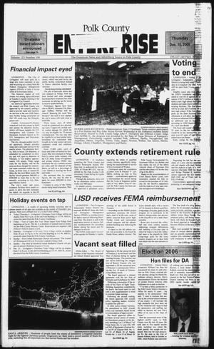 Polk County Enterprise (Livingston, Tex.), Vol. 123, No. 100, Ed. 1 Thursday, December 15, 2005