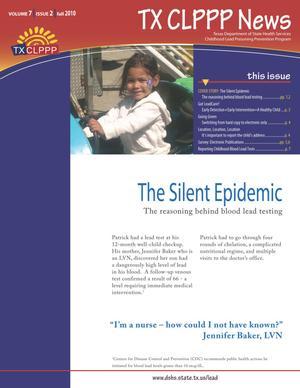 TX CLPPP News, Volume 7, Number 2, Fall 2010