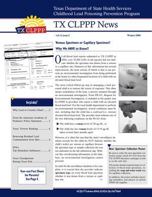 TX CLPPP News, Volume 4, Number 2, Winter 2006
