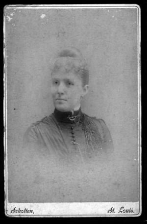 Primary view of object titled '[Portrait of Belle Ryon Davis]'.