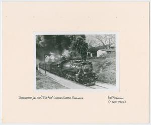 Primary view of [Train Engine #702 and Cars]