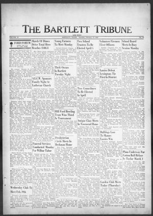 Primary view of object titled 'The Bartlett Tribune and News (Bartlett, Tex.), Vol. 82, No. 15, Ed. 1, Thursday, February 13, 1969'.