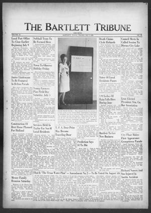 Primary view of object titled 'The Bartlett Tribune and News (Bartlett, Tex.), Vol. 82, No. 35, Ed. 1, Thursday, July 3, 1969'.