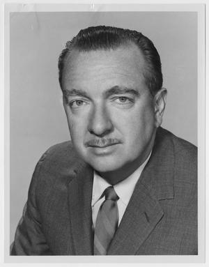 Primary view of object titled '[Headshot Walter Cronkite]'.