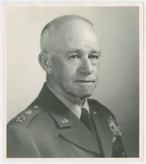 Primary view of object titled '[Photograph of General Omar N. Bradley]'.