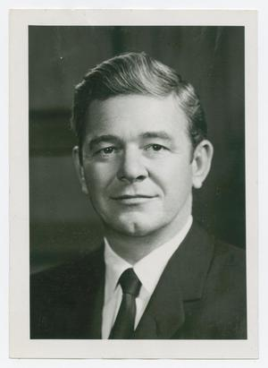 Primary view of object titled '[Photograph of Senator Tom Creighton]'.