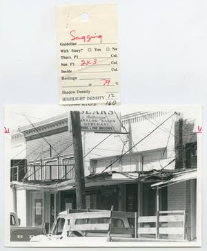 Primary view of object titled '[Sears Store]'.