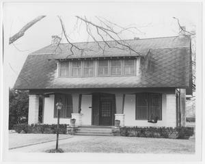 Primary view of object titled '[Dr. Gadby House]'.