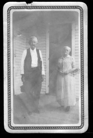 [Photograph of Mr. And Mrs. J.H.P. Davis]