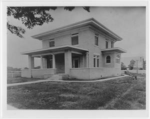 Primary view of object titled '[Main Street House]'.
