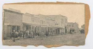 Primary view of object titled '[Historic Photo of Downtown Georgetown]'.