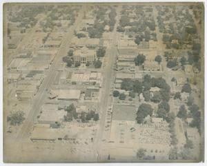 [Aerial View of Georgetown, Texas before 1991]