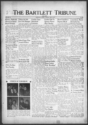 Primary view of object titled 'The Bartlett Tribune and News (Bartlett, Tex.), Vol. 83, No. 24, Ed. 1, Thursday, April 9, 1970'.