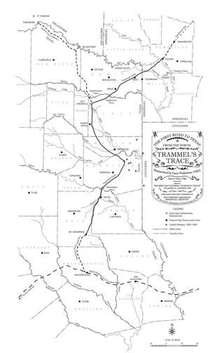 Primary view of object titled 'Trammel's Trace: The First Road to Texas from the North'.