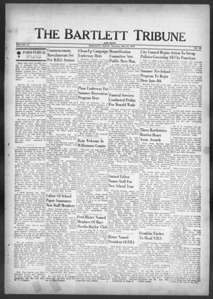 Primary view of object titled 'The Bartlett Tribune and News (Bartlett, Tex.), Vol. 83, No. 30, Ed. 1, Thursday, May 21, 1970'.