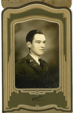 Cadet Portrait of Joe Delaney