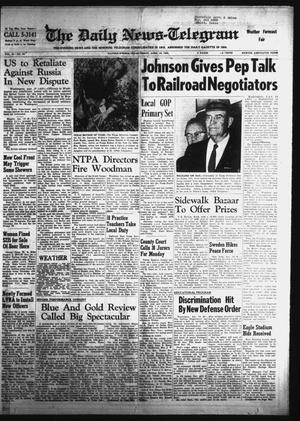 Primary view of object titled 'The Daily News-Telegram (Sulphur Springs, Tex.), Vol. 86, No. 84, Ed. 1 Friday, April 10, 1964'.
