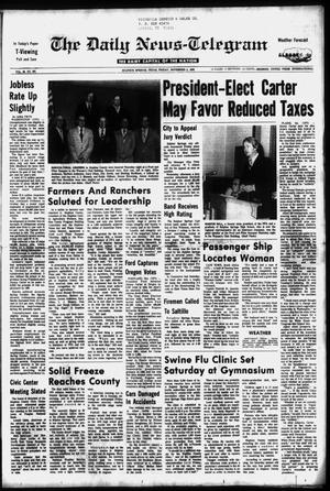 Primary view of object titled 'The Daily News-Telegram (Sulphur Springs, Tex.), Vol. 98, No. 263, Ed. 1 Friday, November 5, 1976'.