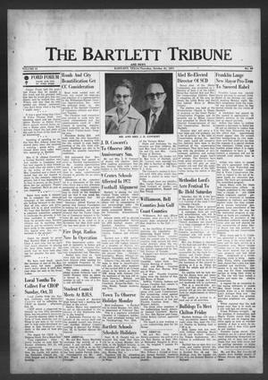 Primary view of object titled 'The Bartlett Tribune and News (Bartlett, Tex.), Vol. 84, No. 52, Ed. 1, Thursday, October 21, 1971'.