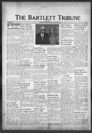 Primary view of object titled 'The Bartlett Tribune and News (Bartlett, Tex.), Vol. 85, No. 1, Ed. 1, Thursday, October 28, 1971'.