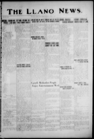 Primary view of object titled 'The Llano News. (Llano, Tex.), Vol. 47, No. 18, Ed. 1 Thursday, April 11, 1935'.