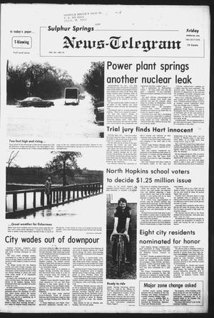 Primary view of object titled 'Sulphur Springs News-Telegram (Sulphur Springs, Tex.), Vol. 101, No. 76, Ed. 1 Friday, March 30, 1979'.