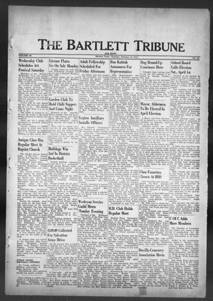 Primary view of object titled 'The Bartlett Tribune and News (Bartlett, Tex.), Vol. 85, No. 16, Ed. 1, Thursday, February 10, 1972'.