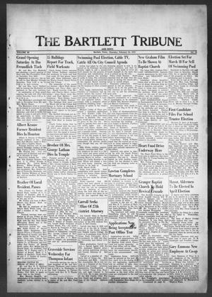 Primary view of object titled 'The Bartlett Tribune and News (Bartlett, Tex.), Vol. 85, No. 18, Ed. 1, Thursday, February 24, 1972'.