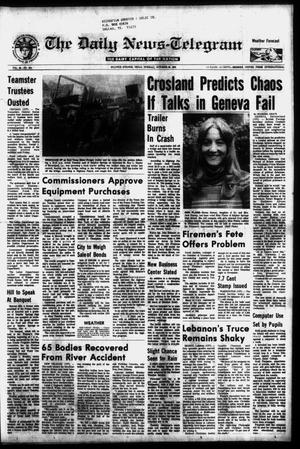 Primary view of object titled 'The Daily News-Telegram (Sulphur Springs, Tex.), Vol. 98, No. 254, Ed. 1 Tuesday, October 26, 1976'.