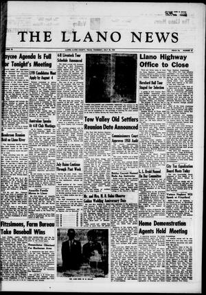 The Llano News (Llano, Tex.), Vol. 70, No. 35, Ed. 1 Thursday, July 30, 1959