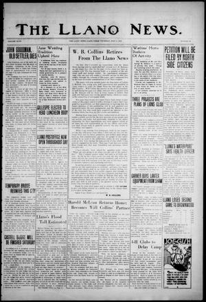 The Llano News. (Llano, Tex.), Vol. 47, No. 29, Ed. 1 Thursday, July 4, 1935