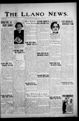 The Llano News. (Llano, Tex.), Vol. 47, No. 28, Ed. 1 Thursday, June 27, 1935