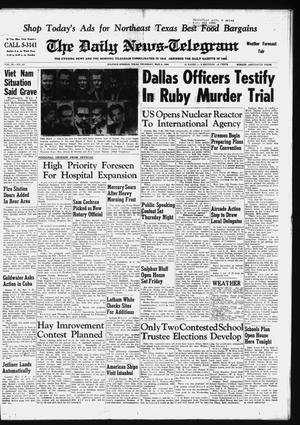 Primary view of object titled 'The Daily News-Telegram (Sulphur Springs, Tex.), Vol. 86, No. 53, Ed. 1 Thursday, March 5, 1964'.