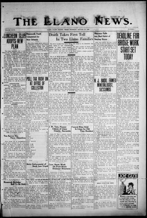 The Llano News. (Llano, Tex.), Vol. 48, No. 7, Ed. 1 Thursday, January 30, 1936