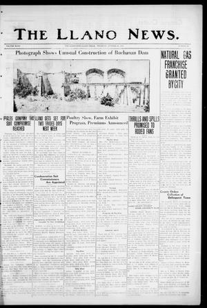 The Llano News. (Llano, Tex.), Vol. 48, No. 47, Ed. 1 Thursday, October 22, 1936