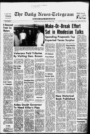 Primary view of object titled 'The Daily News-Telegram (Sulphur Springs, Tex.), Vol. 98, No. 269, Ed. 1 Friday, November 12, 1976'.