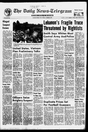Primary view of object titled 'The Daily News-Telegram (Sulphur Springs, Tex.), Vol. 98, No. 253, Ed. 1 Monday, October 25, 1976'.