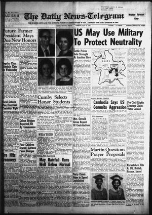 Primary view of object titled 'The Daily News-Telegram (Sulphur Springs, Tex.), Vol. 86, No. 117, Ed. 1 Tuesday, May 19, 1964'.