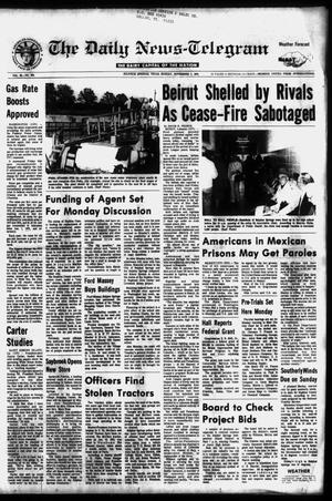 Primary view of object titled 'The Daily News-Telegram (Sulphur Springs, Tex.), Vol. 98, No. 264, Ed. 1 Sunday, November 7, 1976'.