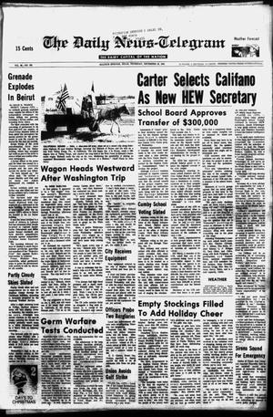 Primary view of object titled 'The Daily News-Telegram (Sulphur Springs, Tex.), Vol. 98, No. 303, Ed. 1 Thursday, December 23, 1976'.